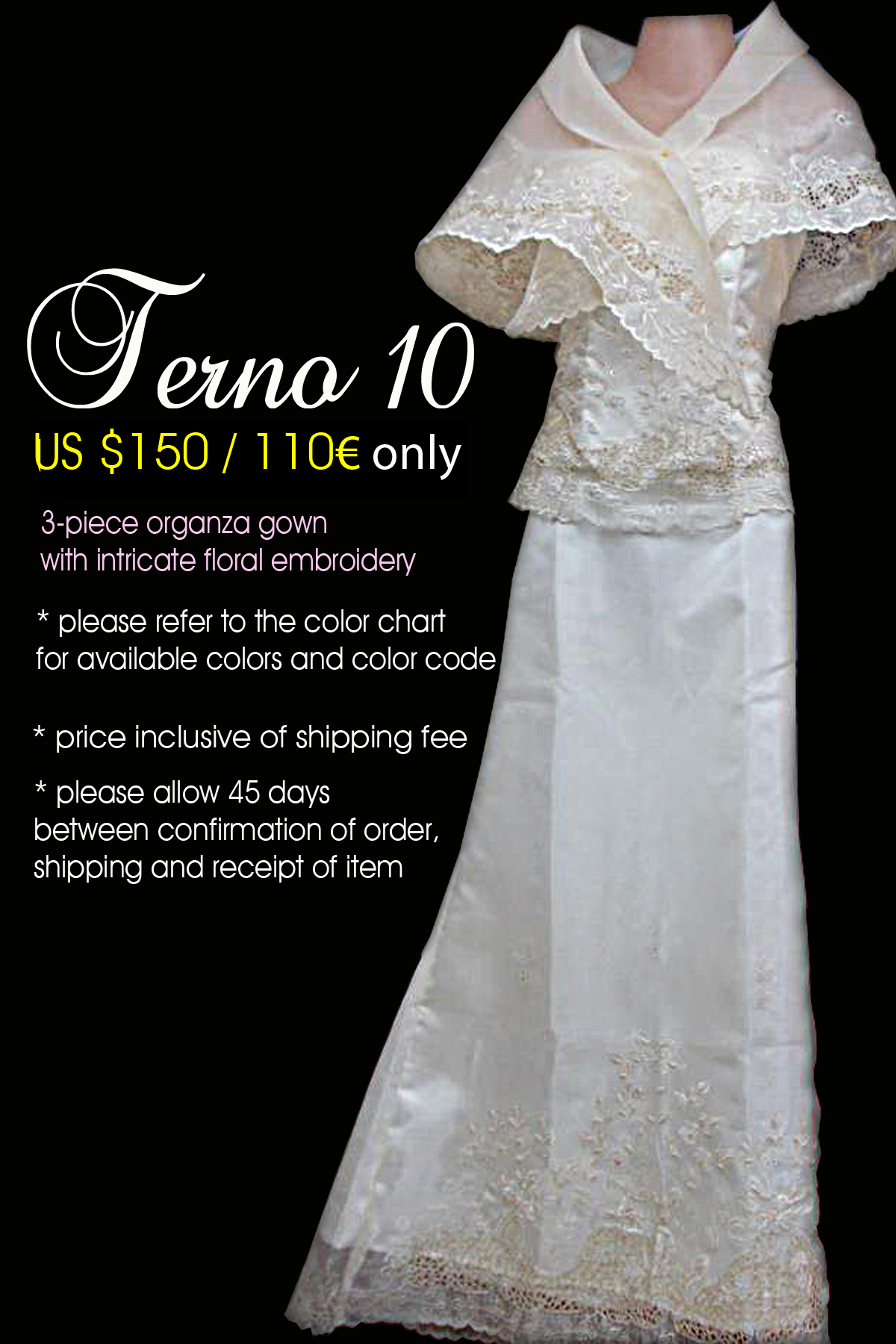 Filipiniana Gowns   Designs By Gian