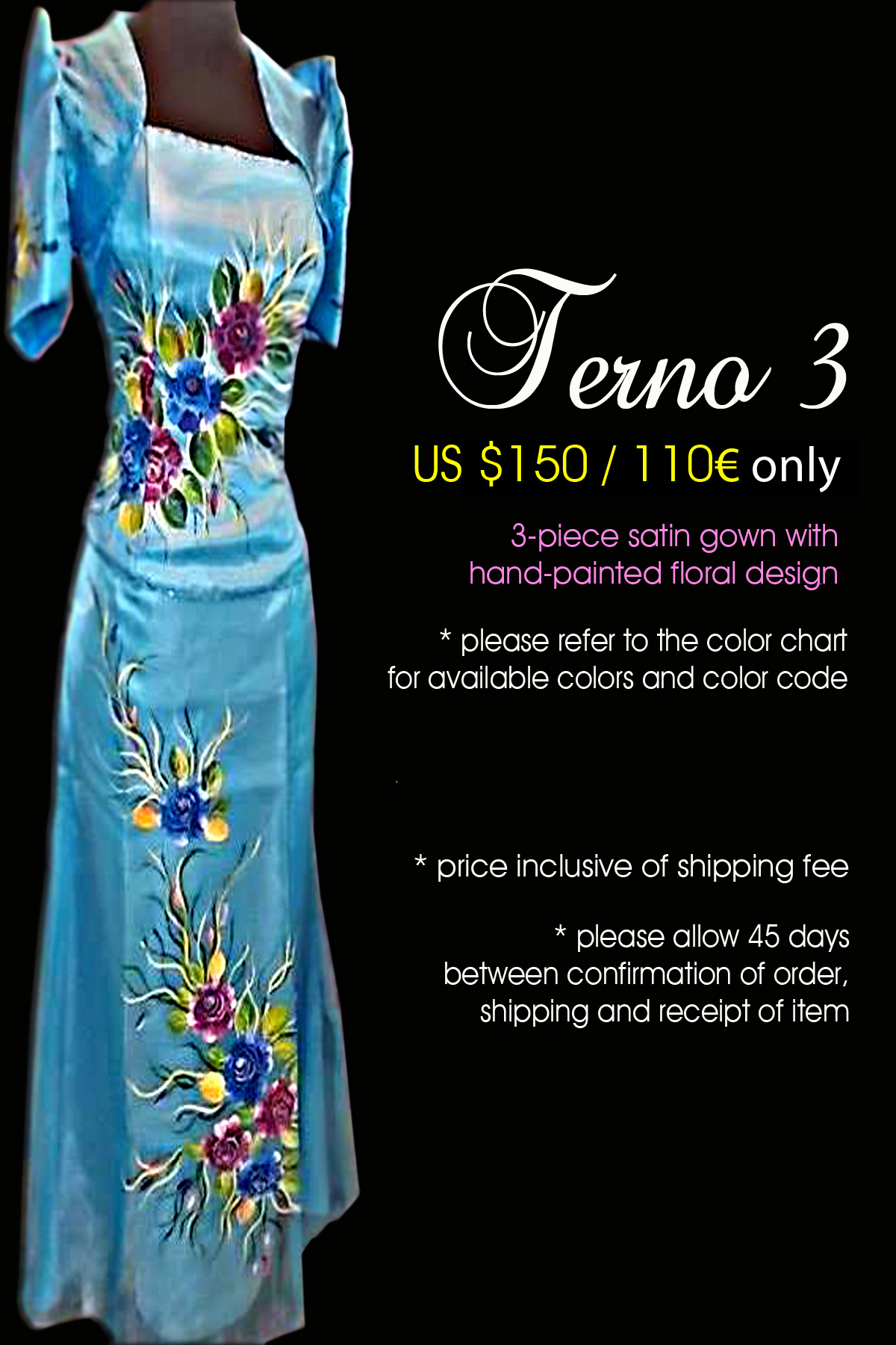 Filipiniana Gowns | Designs By Gian