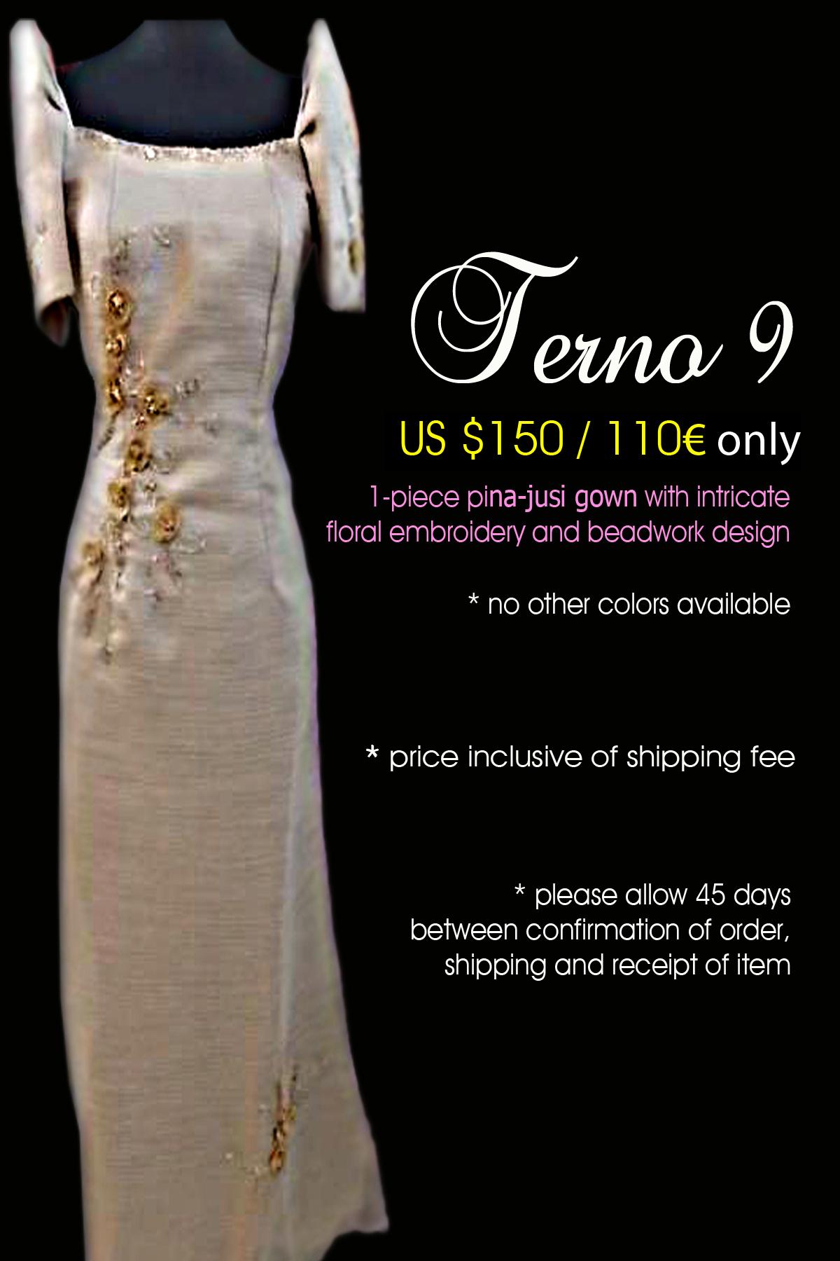 modern take to the classic Filipiniana: designsbygian.wordpress.com/filipiniana-gowns